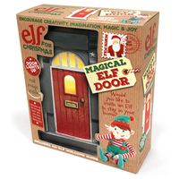 An Elf For Christmas - Magical Elf Door image