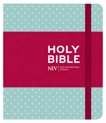 NIV Journalling Black Hardback Bible by New International Version image