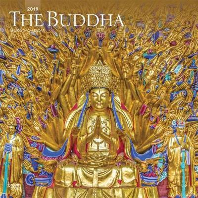 Buddha, the 2019 Square Wall Calendar by Inc Browntrout Publishers image