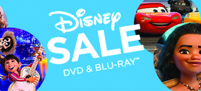 Disney DVD & Blu-ray Sale! Up to 50% off!