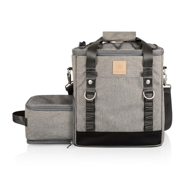 Picnic Time: PT-Frontier Picnic Utility Cooler (Heathered Gray)