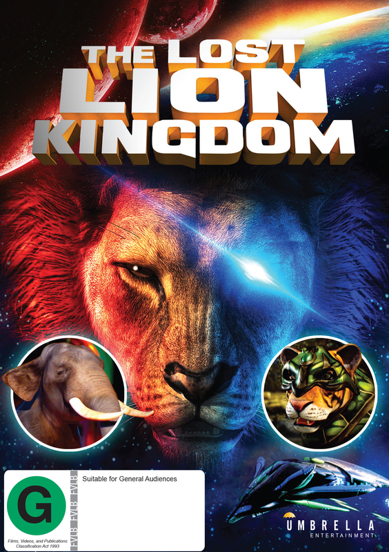 The Lost Lion Kingdom on DVD