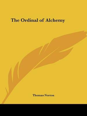 The Ordinal of Alchemy by Thomas Norton image