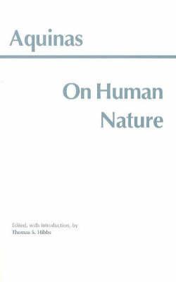 On Human Nature by Thomas Aquinas