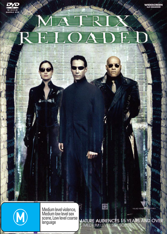 The Matrix - Reloaded on DVD
