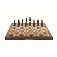 Dal Rossi Walnut Chess Set (38cm) image