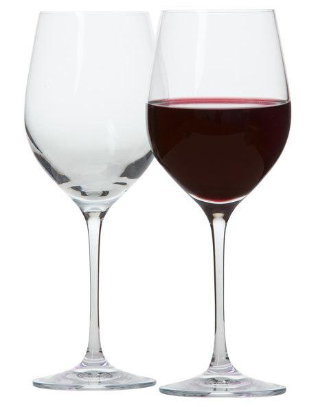 Krosno Vinoteca Red Wine Glasses - 450ml (Set of 6)
