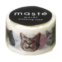 Maste Washi Tape - Cats and Friends 7M Roll