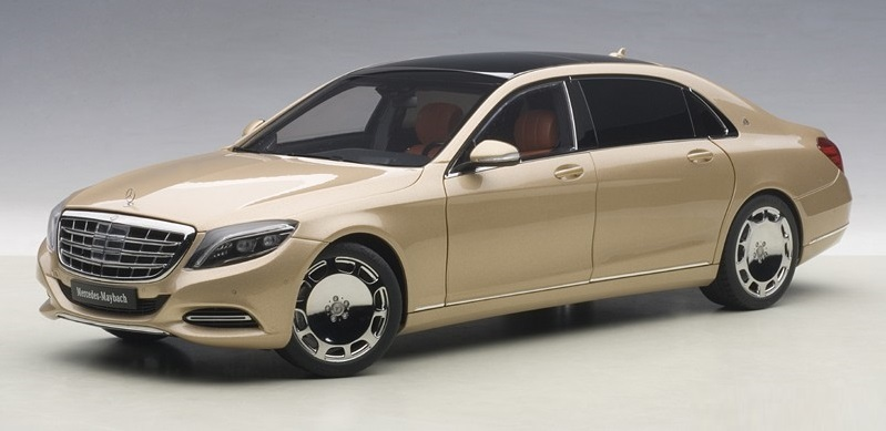 Autoart: 1/18 Mercedes Maybach S-klasse (S600) - Diecast Model image