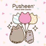 Pusheen 2018 Square Wall Calendar