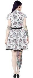 Sourpuss Creep Heart Lydia Dress (X-Large)