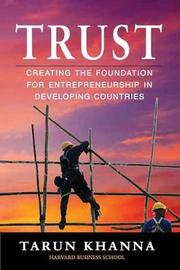 Trust by Tarun Khanna