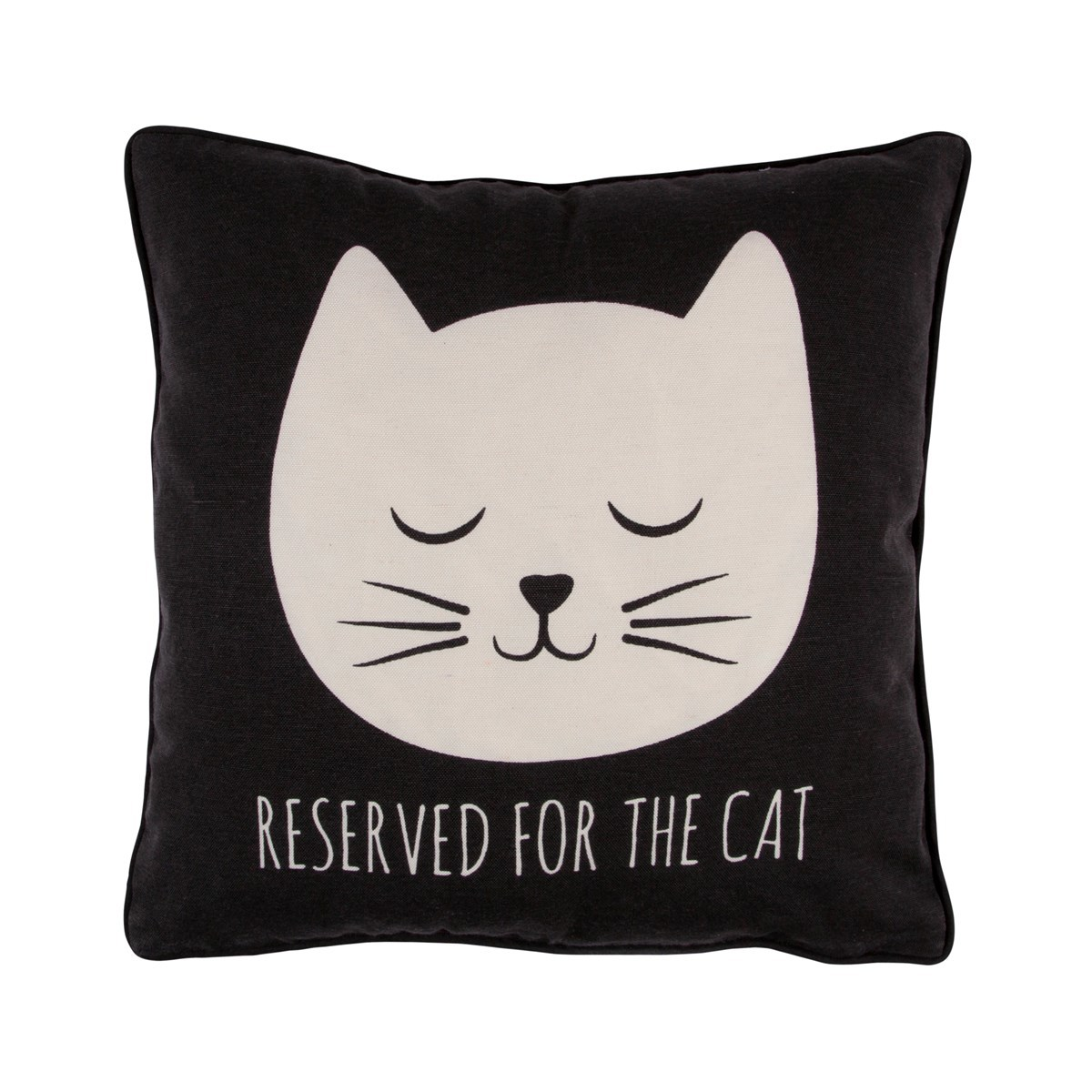 Cat's Whiskers Reserved For The Cat Cushion With Inner image