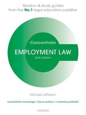 Employment Law Concentrate by Michael Jefferson image
