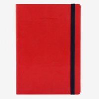 Legami: My Notebook - Large Lined (Red)