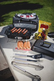 Buccaneer Portable Charcoal Grill All-In-One BBQ Set image