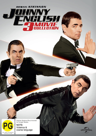 Johnny English: 3 Movie Pack on DVD