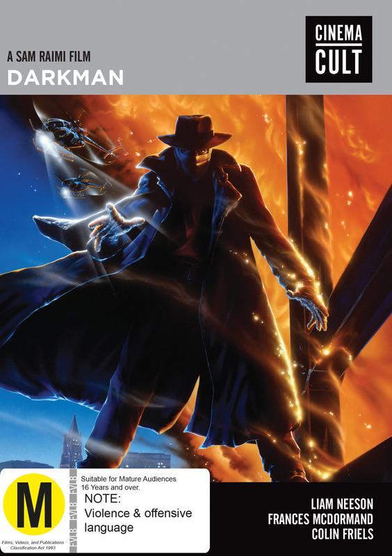 Darkman on DVD
