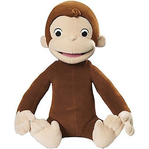 Curious George: Tickle and Giggle Plush image