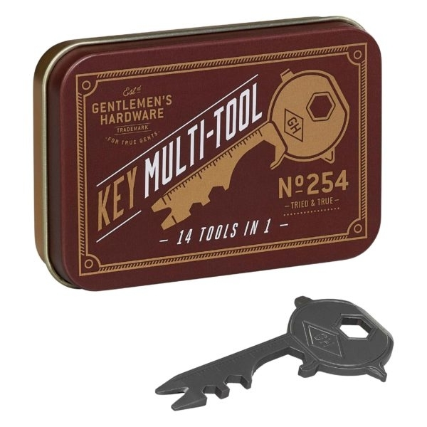 Gentlemen's Hardware: 14-in-1 Key Multi-Tool