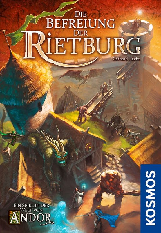 Andor: The Liberation of Rietburg - Board Game