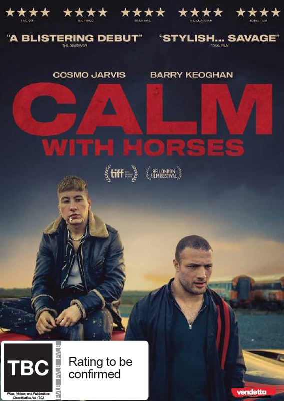 Calm With Horses on DVD