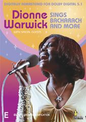 Dionne Warwick - Sings Bacharach and More on DVD