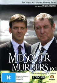 Midsomer Murders - Season 10: Part 1 (3 Disc Box Set) on DVD image