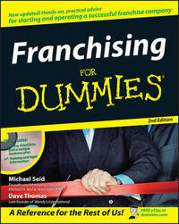 Franchising for Dummies, 2nd Edition by Michael Seid