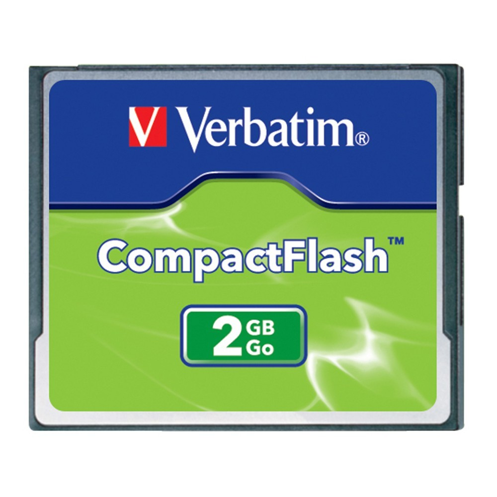 Verbatim CompactFlash Card - 2GB image