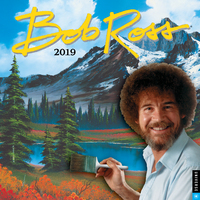 Bob Ross the Joy of Painting 2019 Square Wall Calendar by Bob Ross