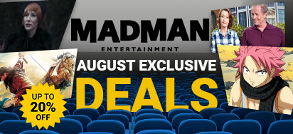 Madman August Exclusive Deals!