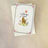 Natural Life: Enamel Pin On Card - Llike You Llama