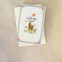 Natural Life: Enamel Pin On Card - Llike You Llama