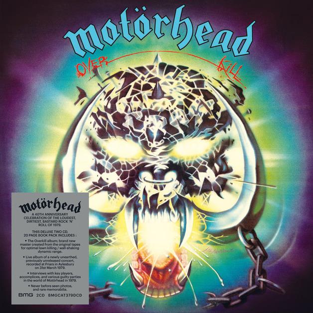 Overkill (Deluxe) by Motorhead