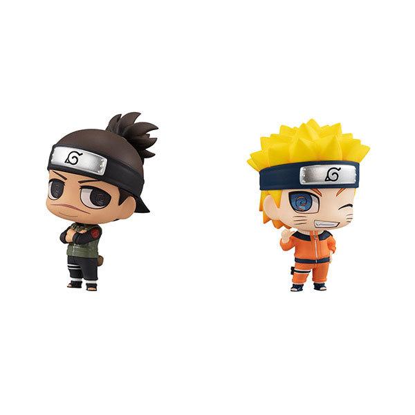 Naruto: Iruka Umino & Naruto Uzumaki - Mini Figure Set