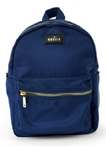 Kedzie: Mainstreet Mini Backpack - Navy