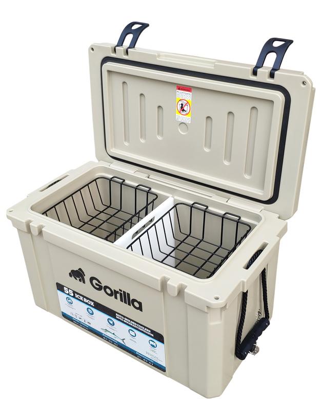 Gorilla: Heavy Duty Ice Box Chilly Bin 55L