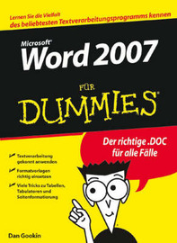 Word 2007 Fur Dummies by Dan Gookin image