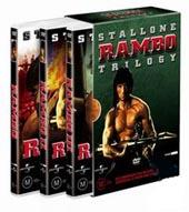 Rambo Trilogy Box Set on DVD