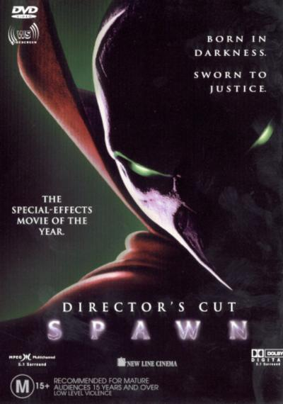 Spawn - Director's Cut on DVD image