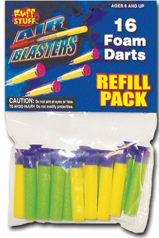 Tommy Dart Gun Suction Dart Refill Pack