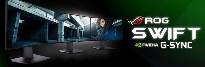 Experience G-SYNC with the ROG SWIFT Gaming Monitor!