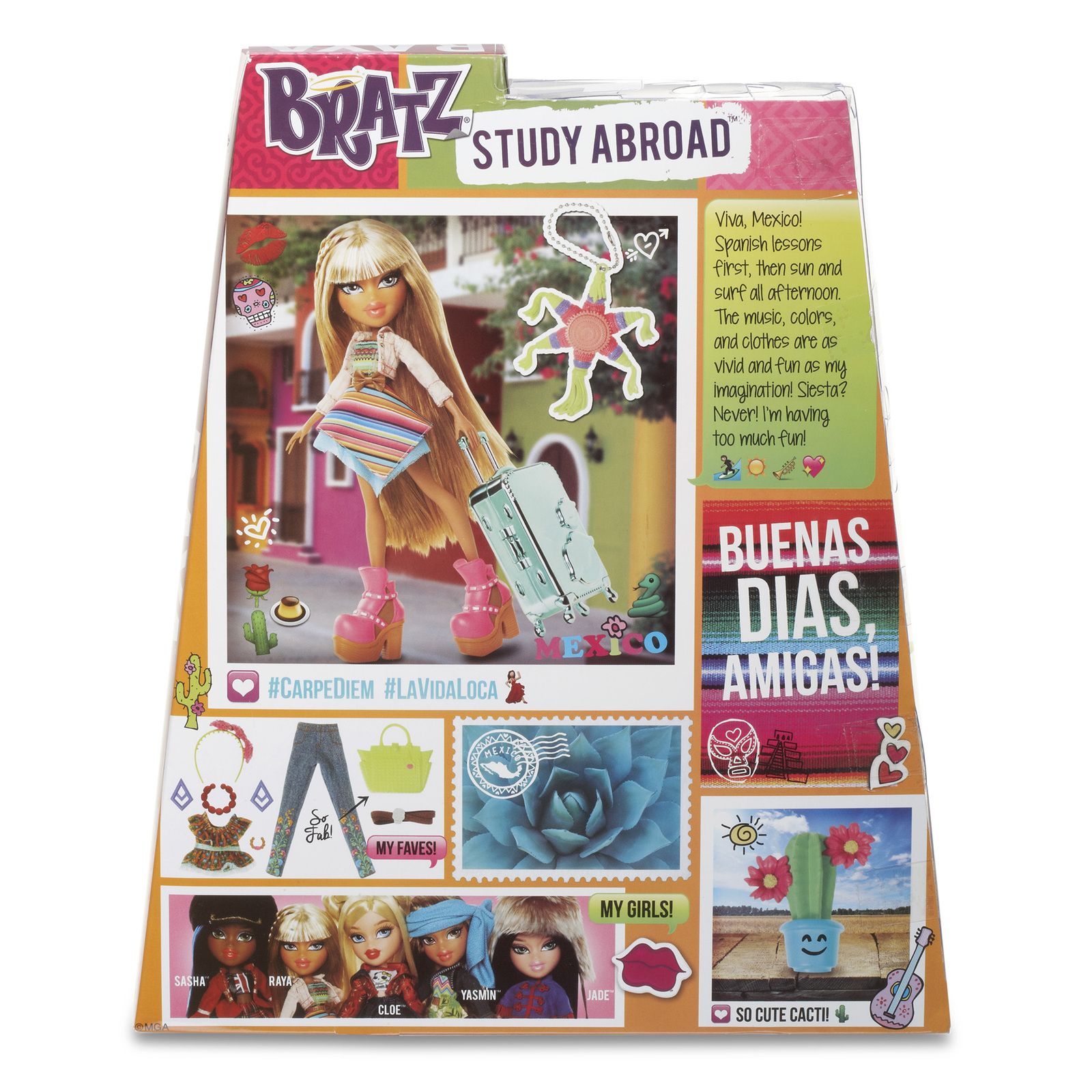 Bratz Dolls Encourage Girls to Travel the Globe ...