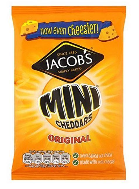 Jacobs Mini Cheddars (50g) image