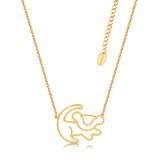 Disney Couture Junior Simba Gold Necklace