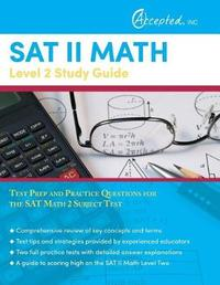 SAT II Math Level 2 Study Guide by Sat Exam Prep Team image