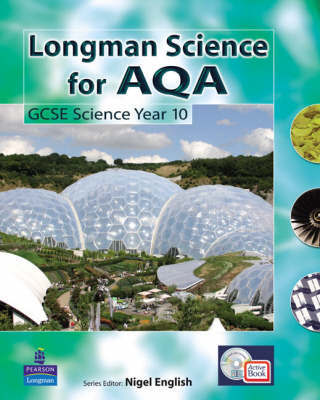 AQA GCSE Science: Pupil's Active Pack Book for AQA GCSE Science A by Colin Lever image