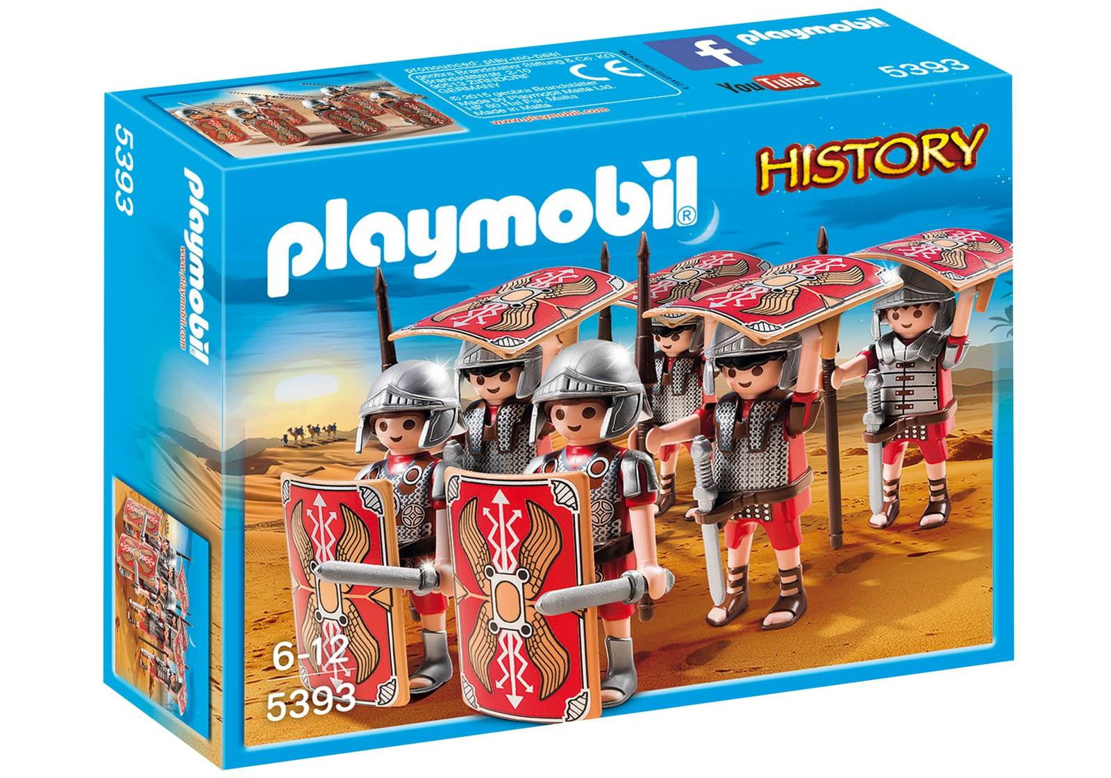 Playmobil: History - Roman Troop image