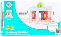 Bigjigs Rail Accessories - Railway Station